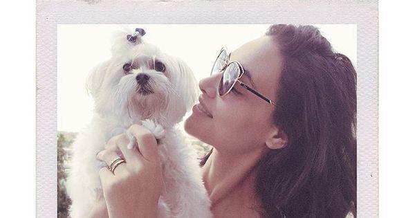 """Débora Nascimento se derrete por cachorrinha: """"Meu pequeno ..."""