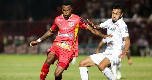 Tchê Tchê assume erro em gol do Santos e promete se redimir na ...