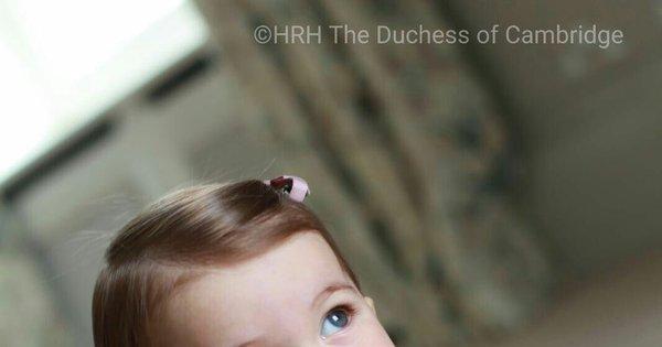 Fotos da princesa Charlotte divulgadas pela família real são a coisa ...