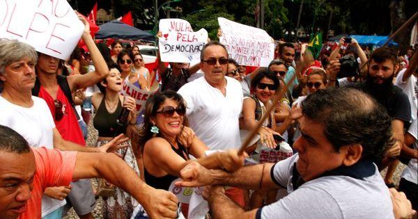 Dia do Trabalho teve confronto entre manifestantes em Belém do Pará