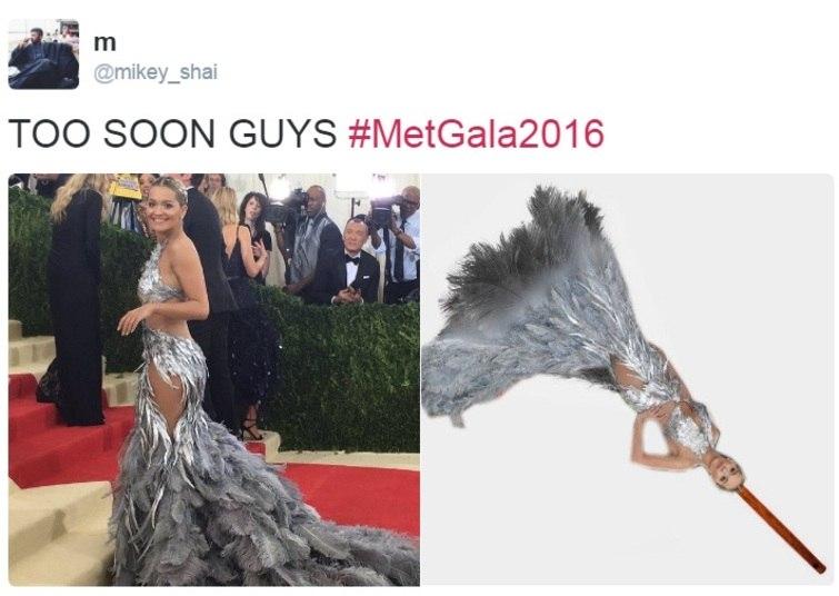 A Rita Ora virou um espanador na mão da galera da zoeira