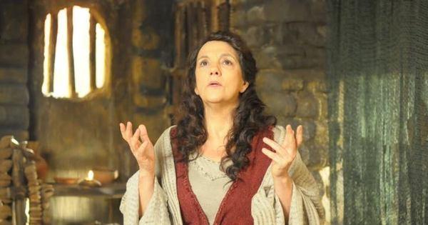 "Denise Del Vecchio admira a sabedoria de Joquebede: ""Ela é muito ..."