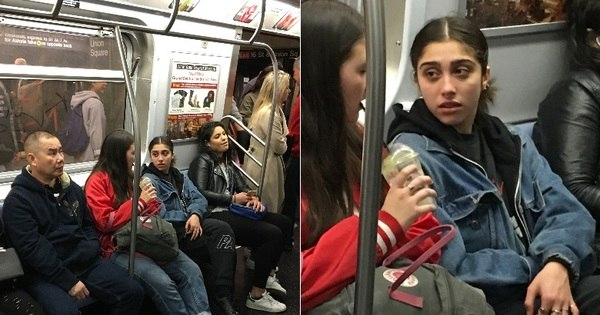 Gente como a gente, filha de Madonna anda de metrô ...