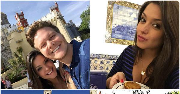 Thais Fersoza e Michel Teló curtem viagem para Portugal - Fotos ...