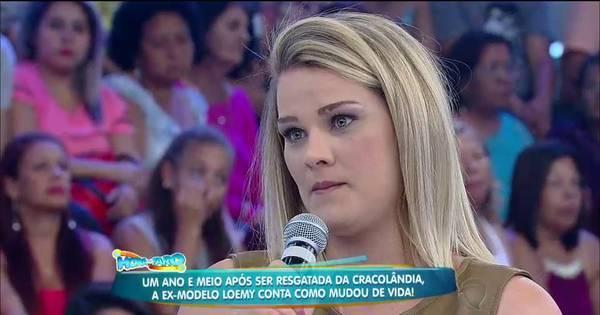 """Modelo resgatada da Cracolândia fala sobre tratamento: """"Tem dias ..."""