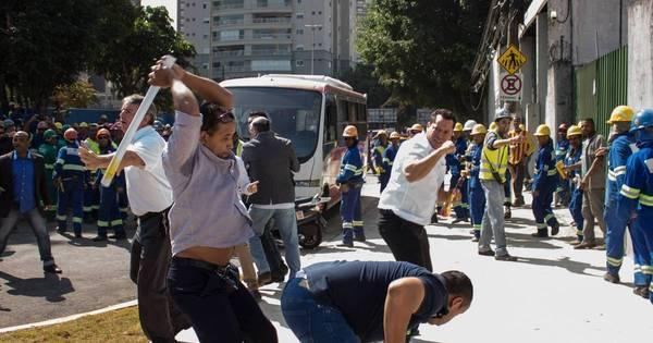 Contra Uber, taxistas brigam com simpatizantes de Haddad ...