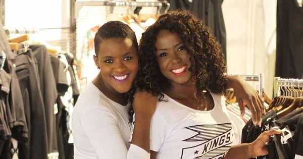 Ex-BBBs Adélia Soares e Angélica Ramos se divertem nos ...