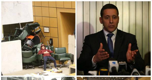 Veja fotos da ocupação de estudantes na Assembleia nesta quarta ...