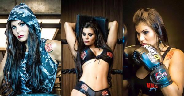 De ring girl à lutadora: Musa do Vasco é intitulada a mais sexy do...