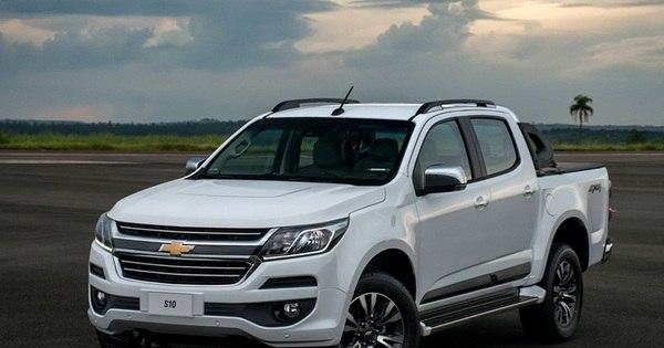Chevrolet mata antiga opção de entrada da S10; nova picape agora ...