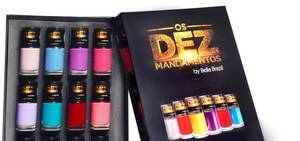 Leve a beleza das cores de Os Dez Mandamentos para as suas unhas!