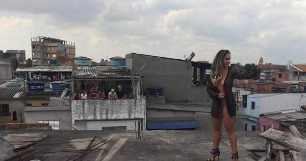 Mulher Melão mostra bastidores de ensaio nu: 'Ficou a minha cara ...