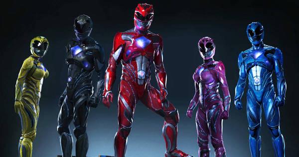 Uniformes da nova versão dos Power Rangers dividem opinião nas ...