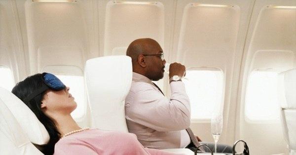 'Primeira classe' em aviões aumenta em 4 vezes o estresse dos ...