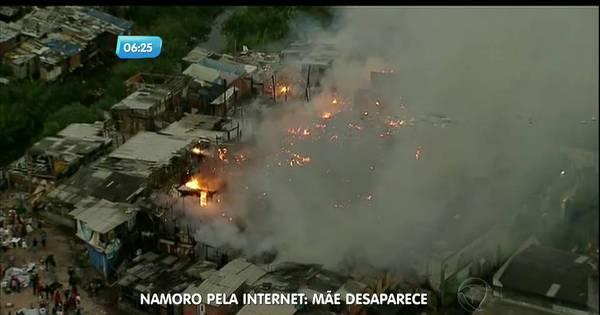 Incêndio atinge comunidade na zona sul de SP - Notícias - R7 São ...
