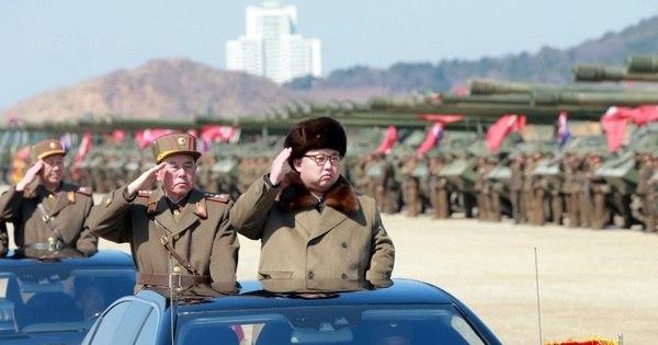 Em congresso histórico, ditador da Coreia do Norte exalta bomba ...