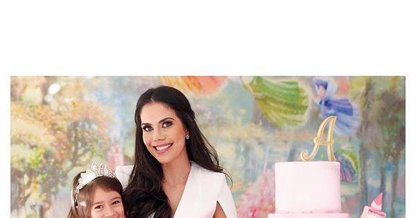 Daniela Albuquerque comemora quatro anos da filha Alice com ...