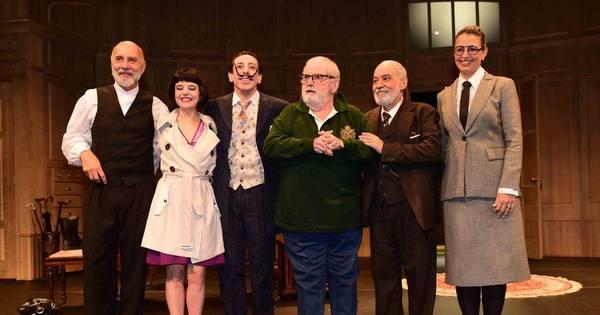 Jô Soares recebe amigos em estreia de novo espetáculo teatral ...