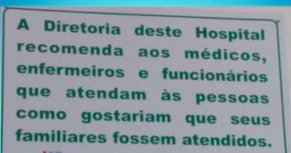 Placa em hospital de Salvador gera polêmica e sindicato dos ...