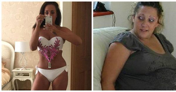 Mulher perde quase 50 kg após gravidez e fica milionária ao ...