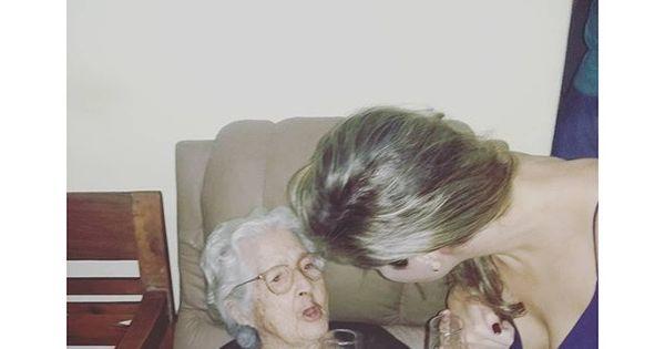 Ana Paula Renault conhece a mãe de Dona Geralda ...