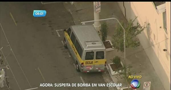 Suspeita de dinamite em van escolar mobiliza Gate na zona sul de SP
