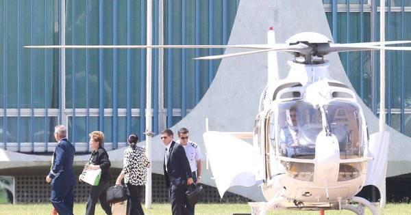 Dilma desiste de avião comercial e irá a Campinas de jato fretado ...