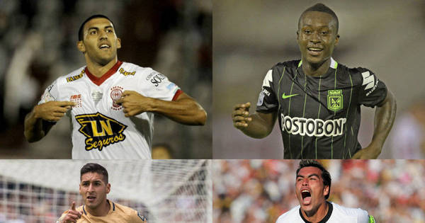 Veja 10 atacantes da Libertadores para os brasileiros ficarem de olho