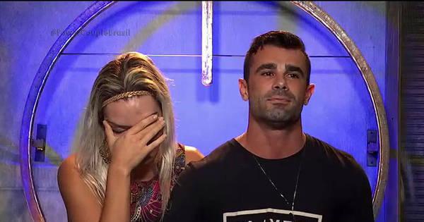 Laura e Jorge perdem prova e ficam em risco no Power Couple Brasil