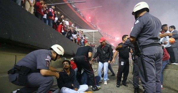 Três torcedores envolvidos em incidente no Morumbi passarão por ...