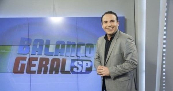 Reinaldo Gottino divide sucesso do Balanço Geral com o público ...