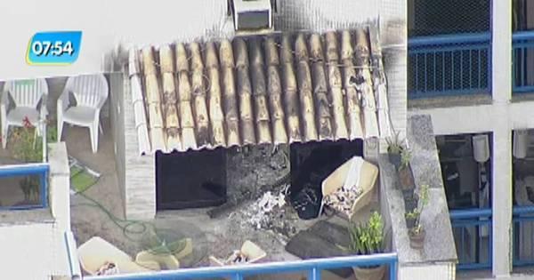 Incêndio em apartamento deixa adolescente morto na Barra da Tijuca