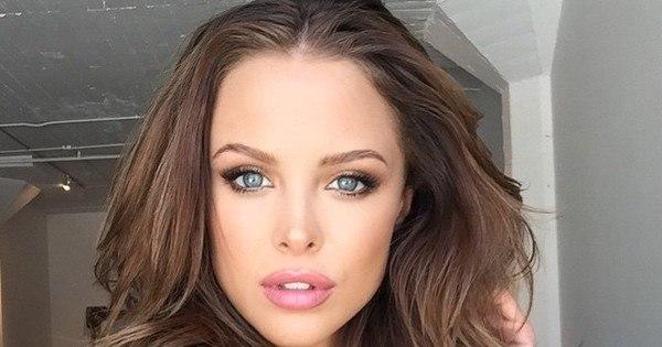 """Chamada de """"sósia mais gata da Angelina Jolie"""", modelo deixa fãs ..."""