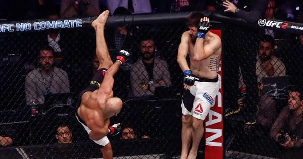 UFC levanta público de Curitiba em noite de festas e nocautes ...