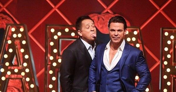 Repleto de piadas adultas, show de Leonardo com Eduardo Costa ...