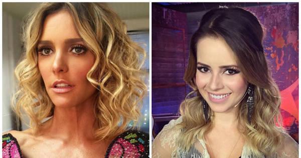 """Fernanda Lima nega mal-estar com Sandy: """"Nunca tivemos nenhum ..."""