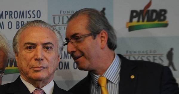 Eduardo Cunha rebate acusação de que teria ameaçado Michel ...