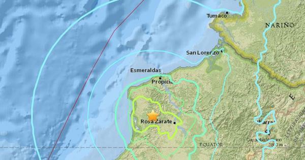 Novo terremoto de 6,8 graus na escala Richter atinge o Equador ...