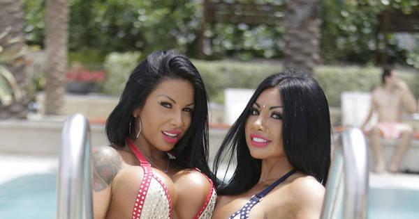 Gêmeas popozudas ganham mais de R$ 100 mil por mês tirando ...