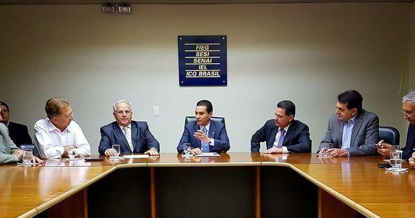 Marcos Pereira convida governador de Goiás para concorrer à ...