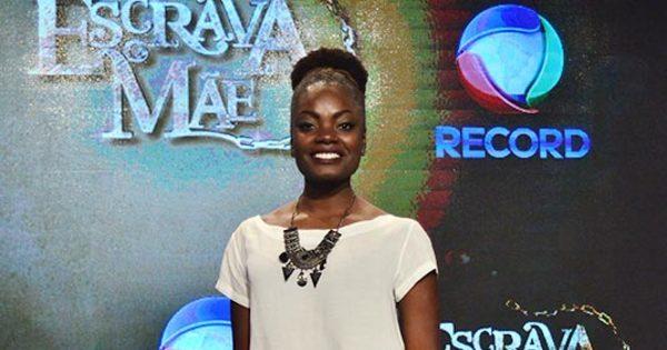 """Nayara Justino, de Escrava Mãe, fala sobre racismo: """"Minha vida ..."""