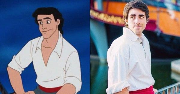 Bonitão faz sucesso na internet por ser idêntico ao Príncipe Eric, de ...