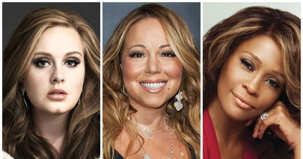 Adele, Mariah Carey e Whitney Houston: relembre as estrelas da ...