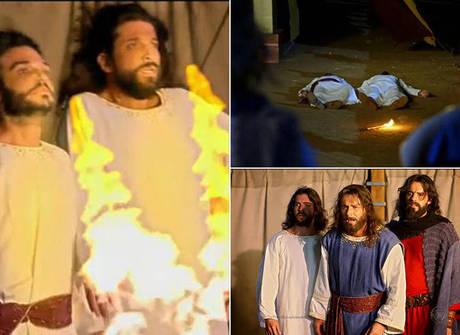Abiú e Nadabe morrem depois de ignorarem as regras do sacerdócio