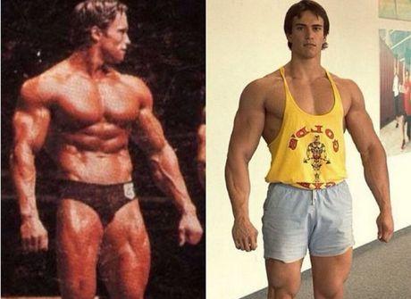 Jovem fisiculturista impressiona por semelhança com Schwarzenegger