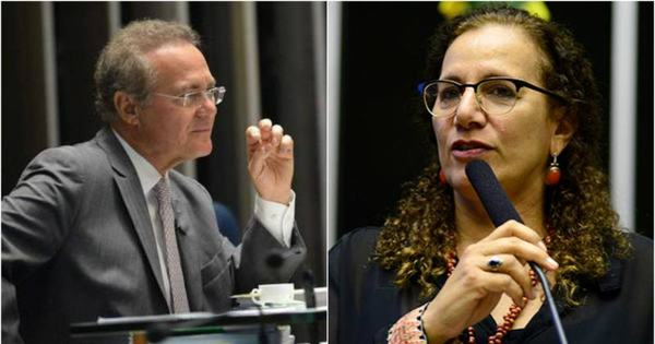 Presença de Jucá no Congresso provoca discussão entre Renan e ...