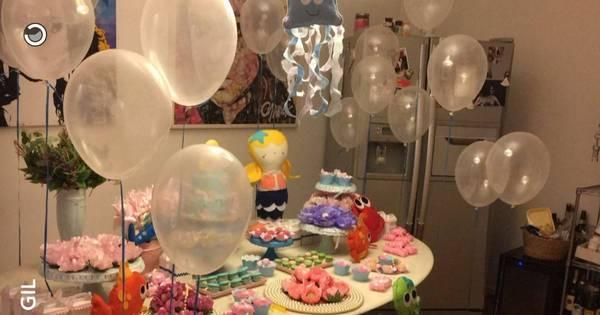 Preta Gil comemora seis meses da neta com festa inspirada em ...