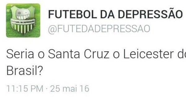 Leicester brasileiro, Santa Cruz também lidera os memes do ...