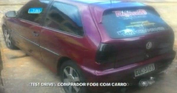 """Motorista é vítima do """"golpe do test drive"""" e perde o carro - Notícias ..."""