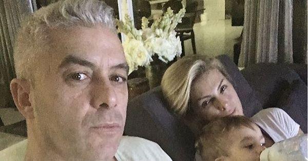 """Ana Hickmann aparece ao lado da família após atentado: """"Exaustos ..."""